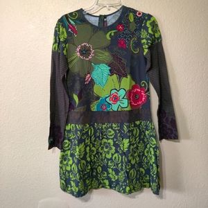 Catimini Floral Embroidered Dress Design in France